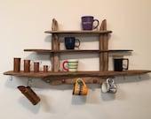 driftwood coffee mug disp...