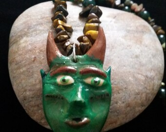 Little Horned God, Ritual Neaclace  Pagan Wiccan