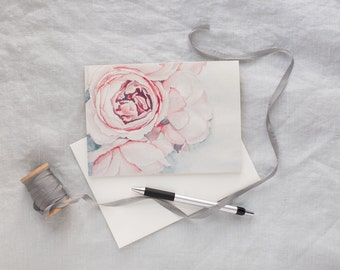 Peony Notecards - Pack of 6 | 5x7