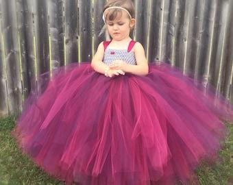 Girls Tutu Dress, Flower Girl Tutu Dress, Wedding Tutu, Holiday Tutu Dress, Photo Prop Tutu, Birthday Tutu Dress, Pageant Tutu Dress, Tutu