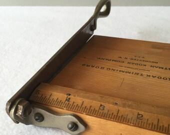 Vintage Kodak No. 1 Trimming Board