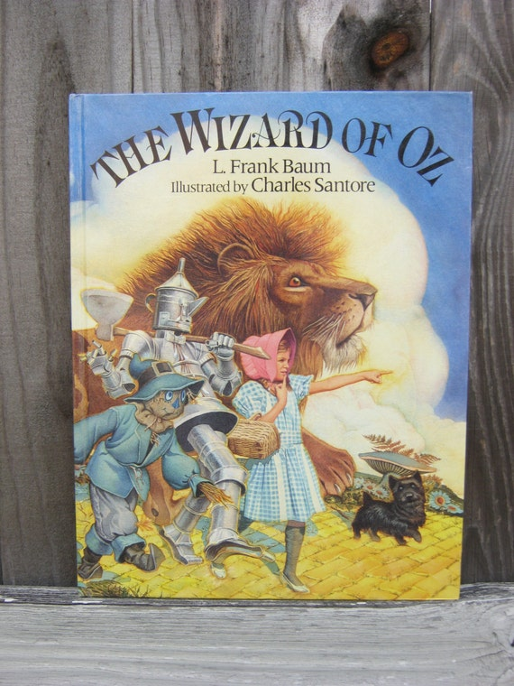 Dorothy and the Wizard in Oz(illustrated)