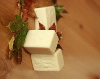 Goat Milk Soap Natural Handcrafted Unscented - Women's Holiday Gift Ideas / Handmade Goats Milk Soaps