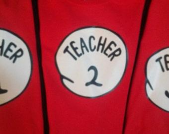 Thing TEACHER 1 TEACHER 2, 3 4 5 6 Etc.