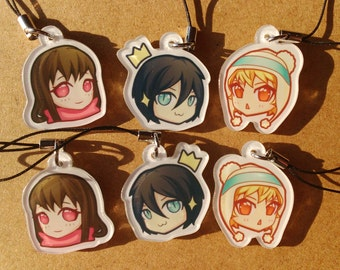 Noragami Phone Charms