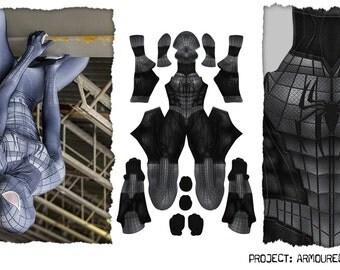 Armored Spiderman bodysuit