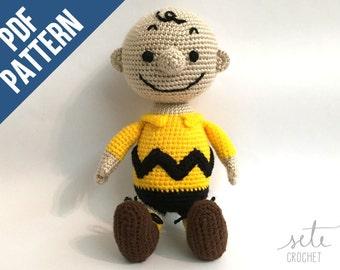 Amigurumi Crochet Pattern - Charlie Brown [Peanuts]