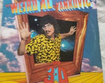 Weird Al Yankovic 3-D record