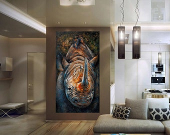 Rhino - Fine Art Reproduction