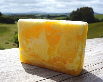 Lemonchello/Handmade Glycerin Soap/Lemon Soap