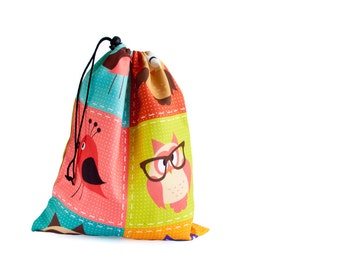 Library Bag, Kids Book Bag. Shoe Bag For A Rock Climbing Shoes. Toy Storage Kids Drawstring Bag. Nappy Bag. Kids Toy Bag
