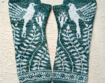PDF Knitting Pattern - Mayfield Mitts