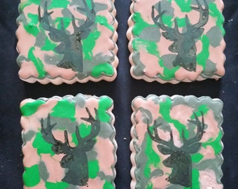Camo and Deer Hunting Cookies!