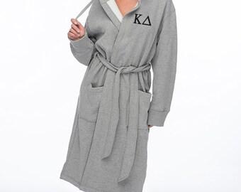 KD, Kappa Delta, Sweatshirt Hoodie Robe, Kappa Delta Robe