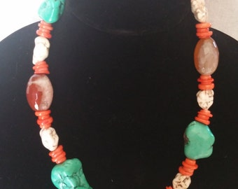 Chunky Western Necklace