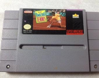 Amazing Tennis SNES - Super Nintendo - Retro Games