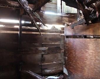 "8""x10"" Original Photography (untitled 5) abandoned barn"