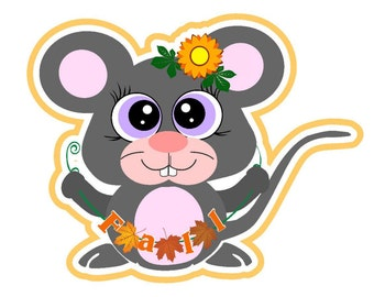 fall mouse svg, harvest svg, fall svg, thanksgiving svg, Autumn svg, Fall leaves svg, THanksgiving svg, Mouse svg, sunflower svg, svg files