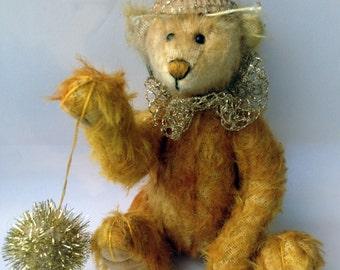 Elise, handdyed artist bear by Susanne Mensing-Varila (Finnteddy) OOAK