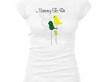 Mommy to be shirt,  Baby reveal shirt, Pregnancy annoucement shirt, Pregnancy reveal shirt, Baby announcement shirt, Cute maternity shirt,