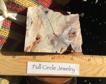 African opal slab