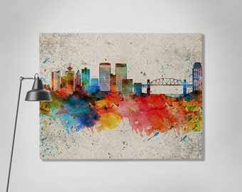 Vancouver print Etsy