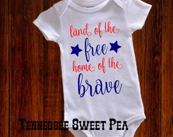 1st 4th of July, July 4th Baby, Welcome home Mommy/Daddy, Baby Patriotic Bodysuit, Baby 4th of July, First 4th, Memorial Day