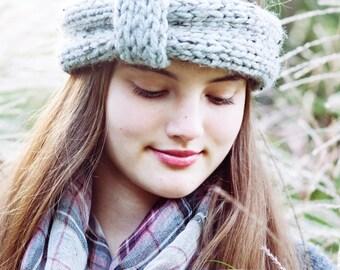 Knitting Pattern - Chunky Headband, Ear Warmer // Lets Be Adventurers