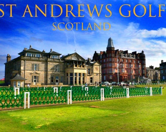 St. Andrews Scotland the home of golf