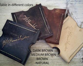 men's wallet,leather wallet,slim wallet, gift for him,portafoglio in pelle,card wallet, gift for men,minimalist wallet