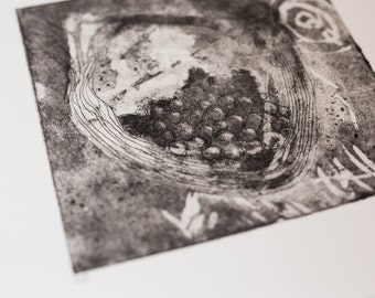 Small Abstract Etching
