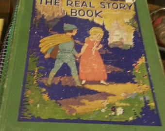 The Real Story Book 1928 edition of children's stories retold