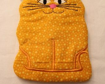 Kitty Zippered Pouch