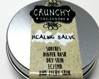 All Natural Healing Salve with Virgin Coconut Oil & Shea Butter from Malaysia