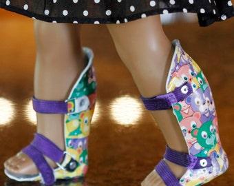 Pair of AFO Leg Braces/Splints for American Girl Doll (or similar)