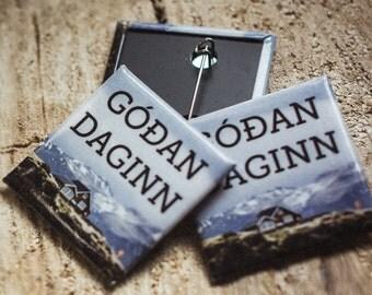 Badge Góðan Daginn