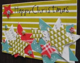 Handmade Happy Christmas Card