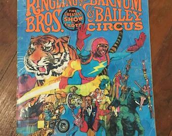 Barnum & Bailey, Ringling Brothers Souvenir Program / Magazine 108th Edition