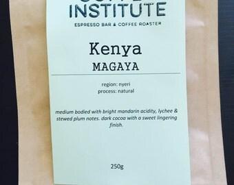 Kenya Magaya Roasted Coffee Beans 250g