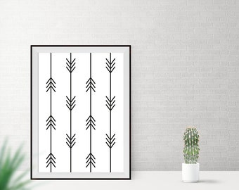 Art print / / pattern / / arrows