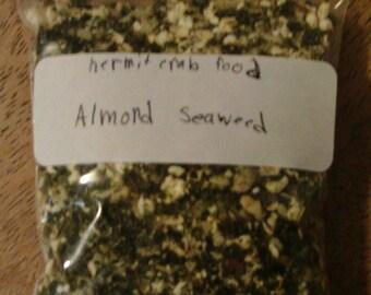 Hermit Crab Food - Almond Seaweed