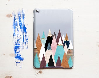 Mountains iPad Cover iPad Case Tablet Winter Stand iPad 2 Case iPad 3 Case iPad 4 Case iPad Air Case Multicolor iPad Case iPad Pro Cover