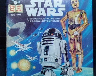 Original Star Wars Read Along Book and Record
