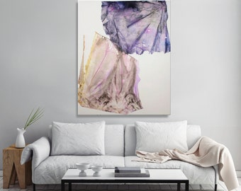 "Large wall art canvas art ORIGINAL painting modern art large abstract wall art modern  home wall decor 31 x 39"""