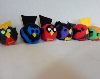 Batman Family Robin Squeaky Birds