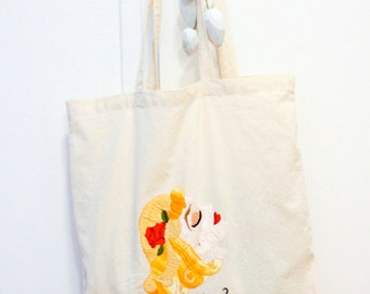 "Embroidery / bag ""Gourmande"""