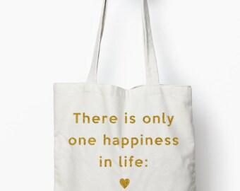 Love tote, Bridal tote bag, bridal shower gift, wedding tote bag, Typography tote
