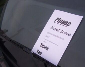 Bad Parking Ticket
