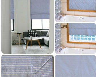 Roman blinds - different colors and designs