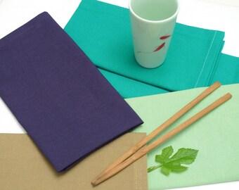 Napkins uni cotton, set of 4 pieces